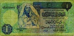 1 Dinar LIBYE  1993 P.59a B