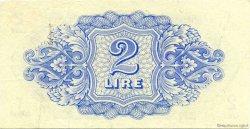 2 Lire LIBYE  1943 P.M2a TTB+