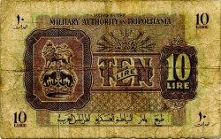10 Lire LIBYE  1943 P.M4a B+