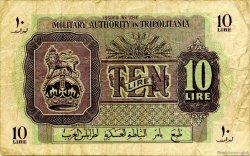 10 Lire LIBYE  1943 P.M4a pr.TTB