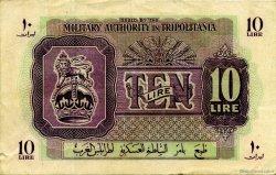 10 Lire LIBYE  1943 P.M4a TTB+