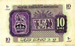 10 Lire LIBYE  1943 P.M4a SUP