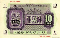 10 Lire LIBYE  1943 P.M4s pr.NEUF