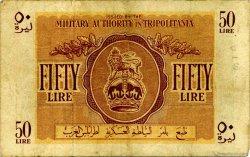 50 Lire LIBYE  1943 P.M5a TB