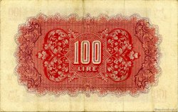 100 Lire LIBYE  1943 P.M6a TTB