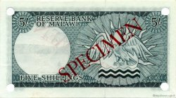 5 Shillings MALAWI  1964 P.01s pr.NEUF
