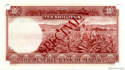 10 Shillings MALAWI  1964 P.02s pr.NEUF