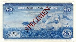 5 Pounds MALAWI  1964 P.04s pr.NEUF