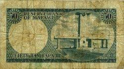 50 Tambala MALAWI  1971 P.05a B+