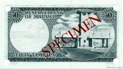 50 Tambala MALAWI  1971 P.05s NEUF