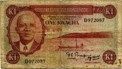 1 Kwacha MALAWI  1971 P.06a B