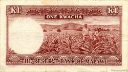 1 Kwacha MALAWI  1971 P.06a TTB+