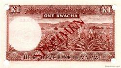 1 Kwacha MALAWI  1971 P.06s NEUF