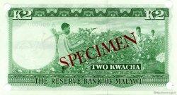 2 Kwacha MALAWI  1971 P.07s NEUF