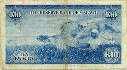 10 Kwacha MALAWI  1971 P.08a TB