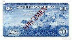 10 Kwacha MALAWI  1971 P.08s NEUF