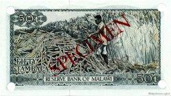 50 Tambala MALAWI  1973 P.09s NEUF