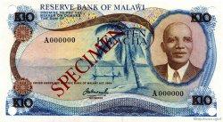 10 Kwacha MALAWI  1973 P.12s NEUF