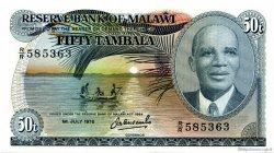 50 Tambala MALAWI  1978 P.13b NEUF