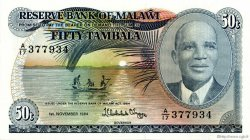 50 Tambala MALAWI  1984 P.13f NEUF