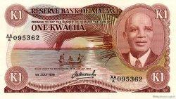 1 Kwacha MALAWI  1978 P.14b pr.NEUF
