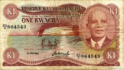 1 Kwacha MALAWI  1982 P.14e TB