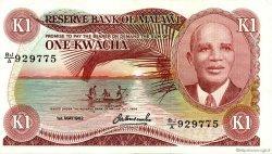 1 Kwacha MALAWI  1982 P.14e SUP+