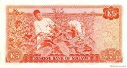 5 Kwacha MALAWI  1984 P.15f pr.NEUF