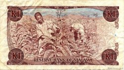 1 Kwacha MALAWI  1986 P.19a pr.TTB