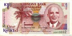 1 Kwacha MALAWI  1990 P.23a TTB+