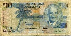 10 Kwacha MALAWI  1990 P.25a B