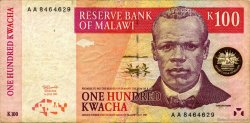 100 Kwacha MALAWI  1997 P.40 TB+