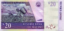 20 Kwacha MALAWI  2007 P.44e pr.NEUF