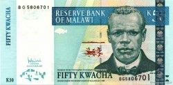 50 Kwacha MALAWI  2007 P.45var NEUF