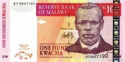 100 Kwacha MALAWI  2005 P.54a NEUF