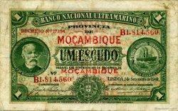1 Escudo MOZAMBIQUE  1941 P.081 pr.TB