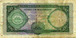 100 Escudos MOZAMBIQUE  1961 P.109b B+