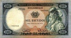1000 Escudos MOZAMBIQUE  1972 P.112 TTB