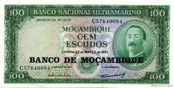 100 Escudos MOZAMBIQUE  1976 P.117a SUP