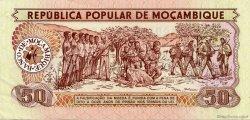 50 Meticais MOZAMBIQUE  1980 P.125 SPL
