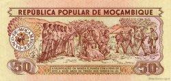 50 Meticais MOZAMBIQUE  1986 P.129b SPL
