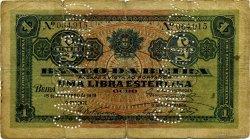 1 Libra MOZAMBIQUE  1919 P.R06c B
