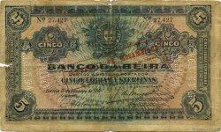 5 Libras MOZAMBIQUE  1919 P.R21 B