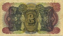 5 Libras MOZAMBIQUE Beira 1934 P.R32 TB