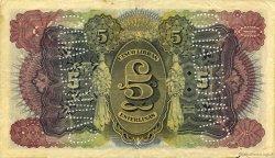 5 Libras MOZAMBIQUE  1934 P.R32c TTB