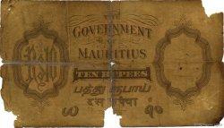 10 Rupees ÎLE MAURICE  1937 P.23b AB