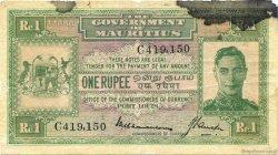 1 Rupee ÎLE MAURICE  1940 P.26 B+