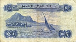 5 Rupees ÎLE MAURICE  1967 P.30b TB à TTB