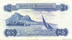 5 Rupees ÎLE MAURICE  1967 P.30c TTB+
