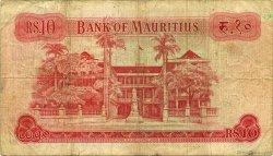 10 Rupees ÎLE MAURICE  1967 P.31c pr.TB